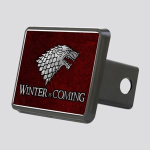 GOT WINTER IS COMING 3 Rectangular Hitch Cover