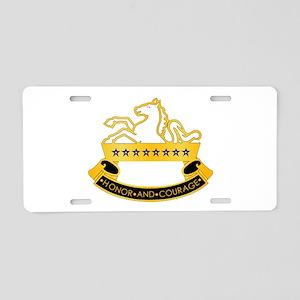 8th Cavalry Regiment Aluminum License Plate