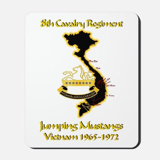 8th Cavalry Regiment Mousepad