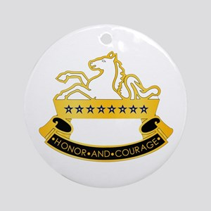 8th Cavalry Ornament (Round)