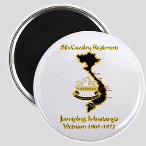 8th Cavalry Regiment Magnet