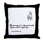 Bun 1 Journey Throw Pillow