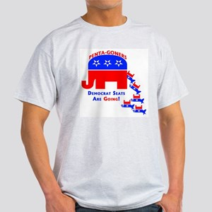 Democrat Seats Are Going! Ash Grey T-Shirt