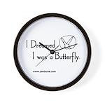 Bun 23 Butterfly Wall Clock