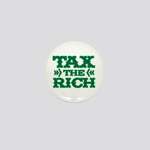 TAX THE RICH Mini Button
