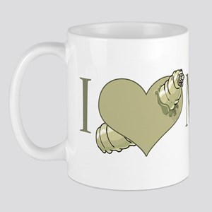 I Love Maggots Mug
