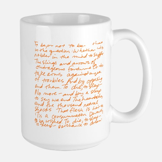 Hamlet - to be or not to be O Large Mug