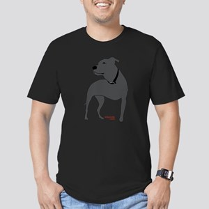 Tripawds Front Leg Pit Bull Men's Fitted T-Shirt (