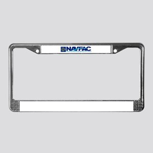 NAVFAC License Plate Frame