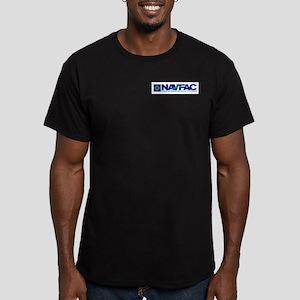 NAVFAC Men's Fitted T-Shirt (dark)