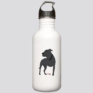 Tripawds Front Leg Pit Bull Stainless Water Bottle