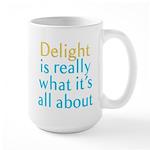 Delight Large Mug