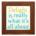 Delight Framed Tile