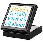 Delight Keepsake Box