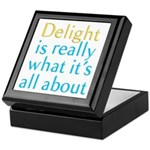 Delight Keepsake Box
