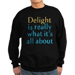 Delight Sweatshirt (dark)
