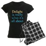 Delight Women's Dark Pajamas