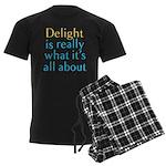 Delight Men's Dark Pajamas