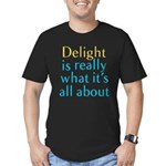 Delight Men's Fitted T-Shirt (dark)