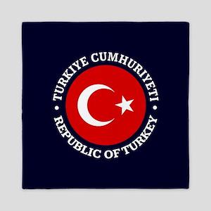 Turkey (rd) Queen Duvet
