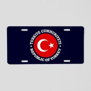 Turkey (rd) Aluminum License Plate