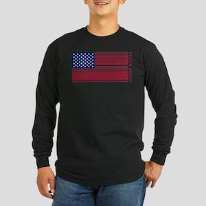 United States of UPC Long Sleeve Dark T-Shirt