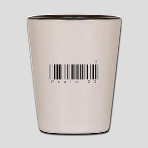 Bar Code Psalm 23 Shot Glass