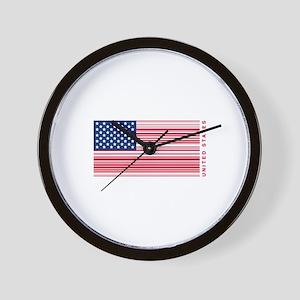 United States of UPC Wall Clock