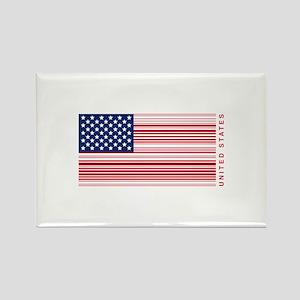 United States of UPC Rectangle Magnet