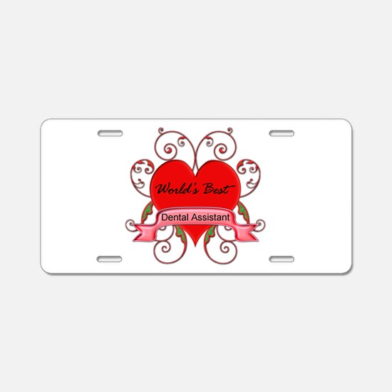 Funny Medical assistant Aluminum License Plate