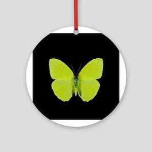Phoebis sennae Butterfly Keepsake (Round)