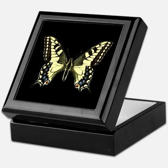 Oregon's Swallowtail Butterfly Keepsake Box