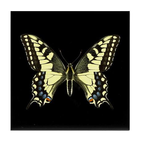 Oregon's Swallowtail Butterfly Tile Coaster