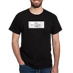 S.R. Frazee Black T-Shirt