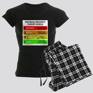 REDNECK SECURITY THREAT Women's Dark Pajamas