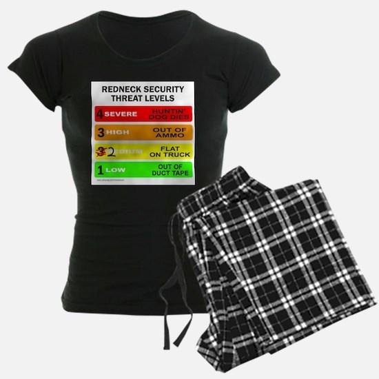 REDNECK SECURITY THREAT Pajamas