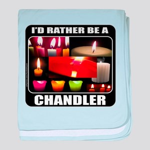 CANDLE MAKER/CANDLE MAKING baby blanket