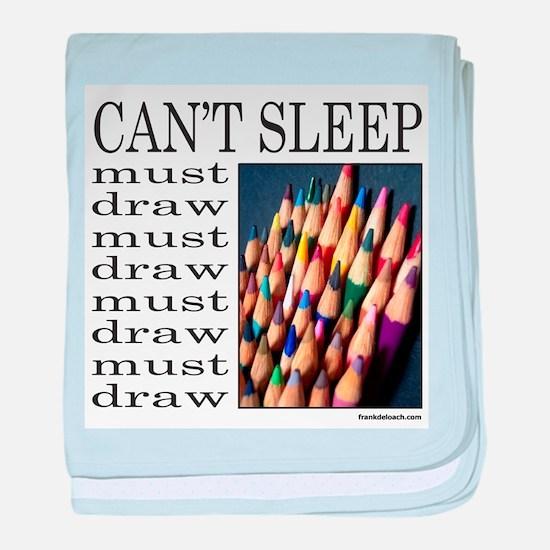 ARTIST/ART baby blanket