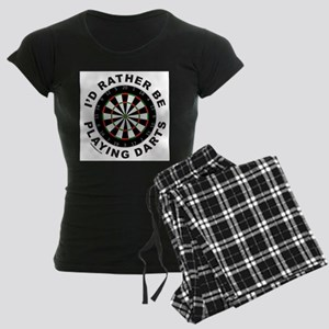 DARTBOARD/DARTS Women's Dark Pajamas
