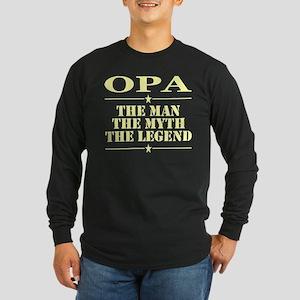 Opa The Man The Myth The Legen Long Sleeve T-Shirt