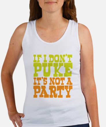 Pukin' Party Women's Tank Top