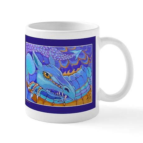 """Mug (small) """"Purple Dragon"""""""
