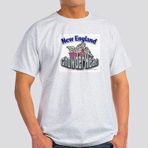 New England Chowderhead... Ash Grey T-Shirt