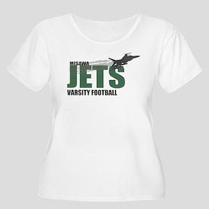 Clothing Women's Plus Size Scoop Neck T-Shirt