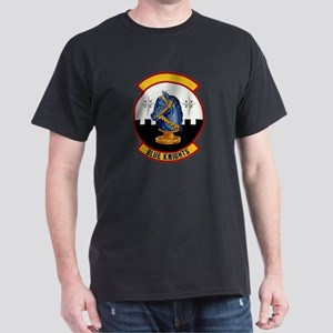 66th Security Police Black T-Shirt