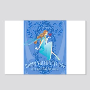 Blue Valentine Postcards (Package of 8)