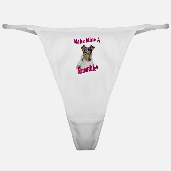 Smooth Collie Gifts Classic Thong