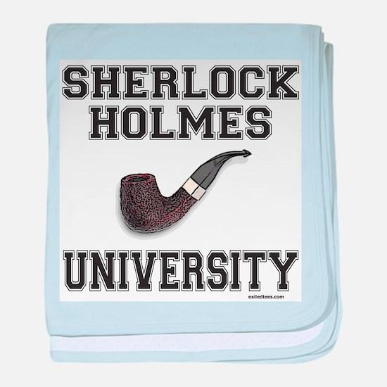SHERLOCK HOLMES baby blanket
