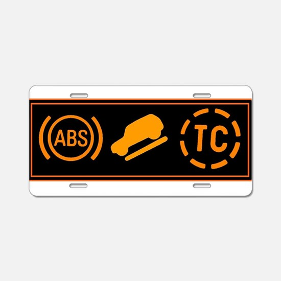 Offroad Aluminum License Plate