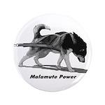 """Malamute Power 3.5"""" Button (100 pack)"""